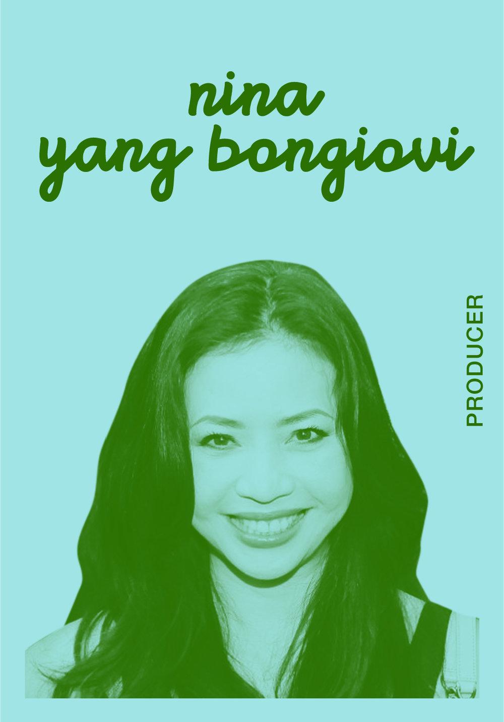 Nina Yang Bongiovi   @NYBONGIOVI   IG: NYBONGIOVI