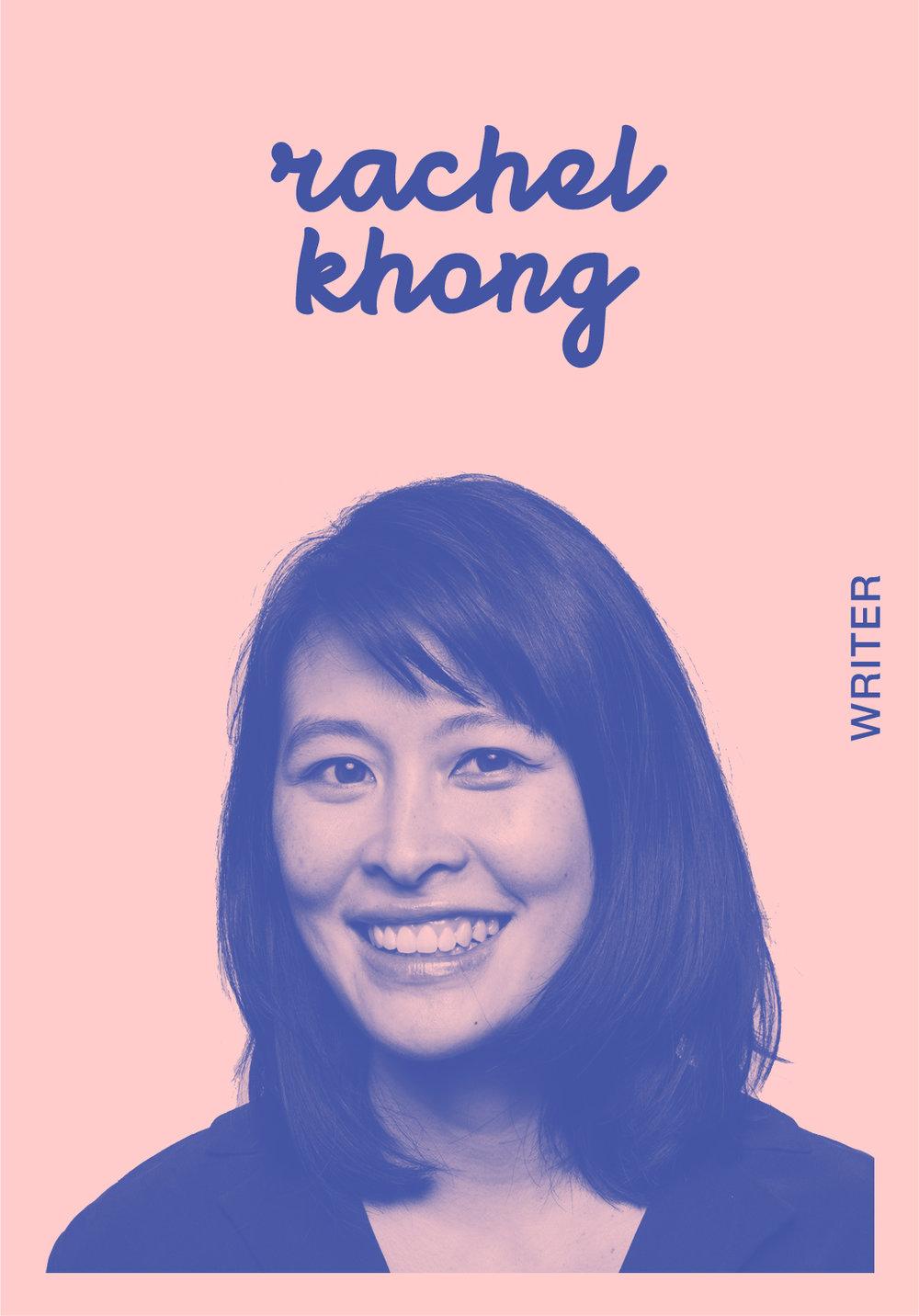 Rachel Khong   WEBSITE   @RACHELKHONG   IG: RRRRRRRACHELKHONG