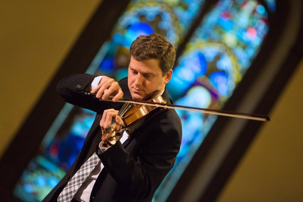 GRAMMY and 11-time JUNO winning violinist James Ehnes