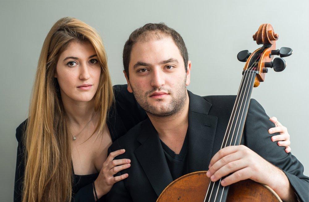Marika Bournaki & Julian Schwarz - April 20, 2018