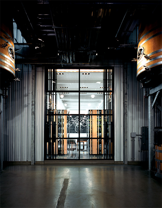 "Bravo Niagara! transforms the Stratus Vineyards ""Press Alley"" from a working winery to an industrial chic concert space"