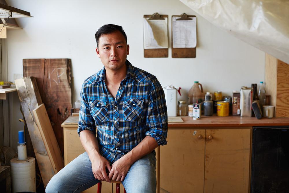Shyn Huh | Leatherworker | Co-Founder