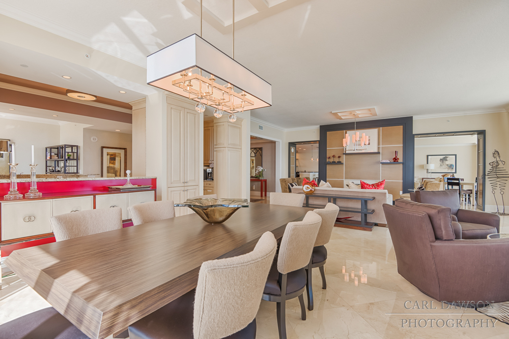 Dining Room in Luxury Condo | Singer Island