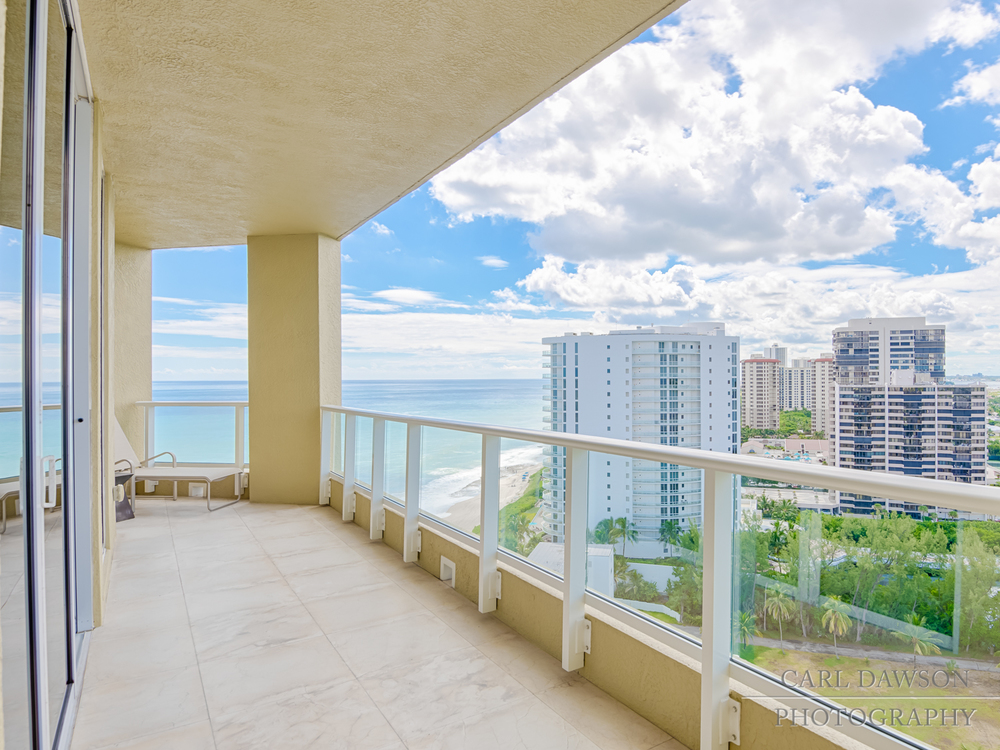 North Ocean Drive Balcony View | Singer Island