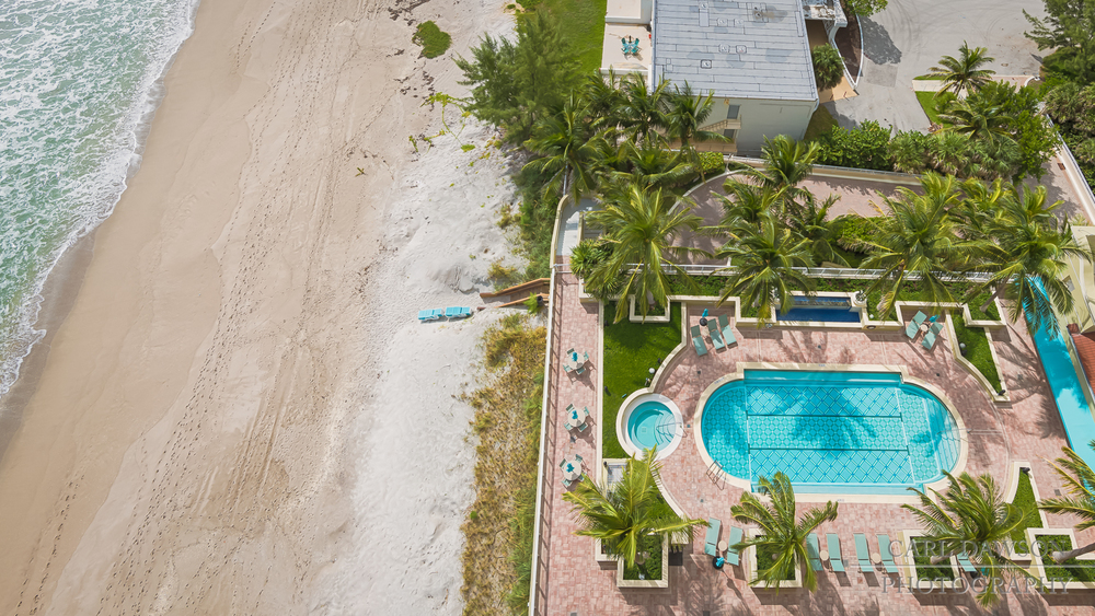 Landscape view of Pool and Beach | Singer Island