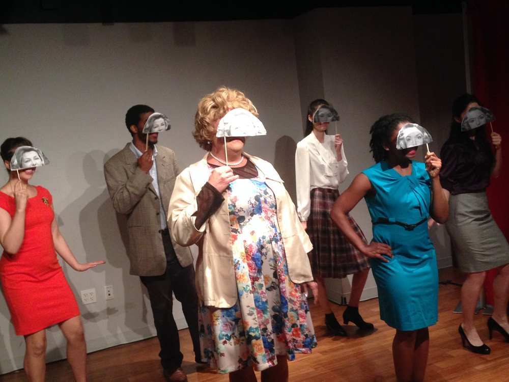 Work-in-Progress Showing at Drama League