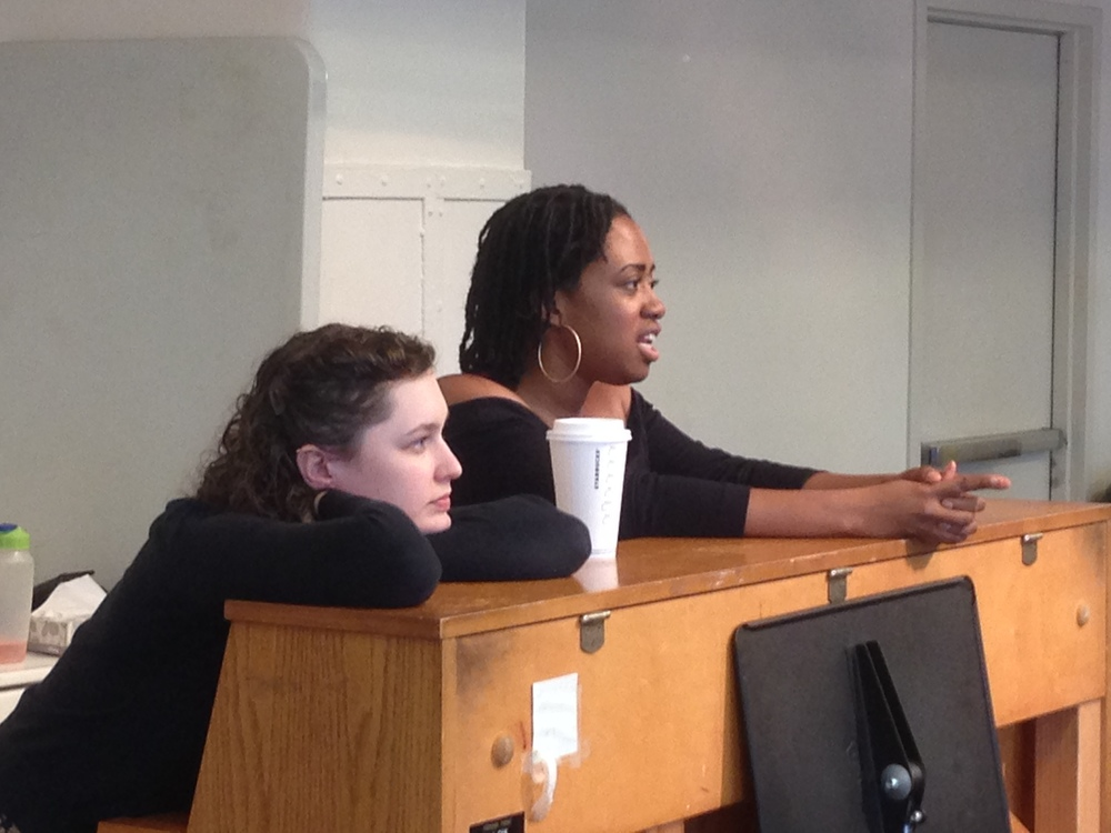 Jazelle & Sarah In Rehearsal