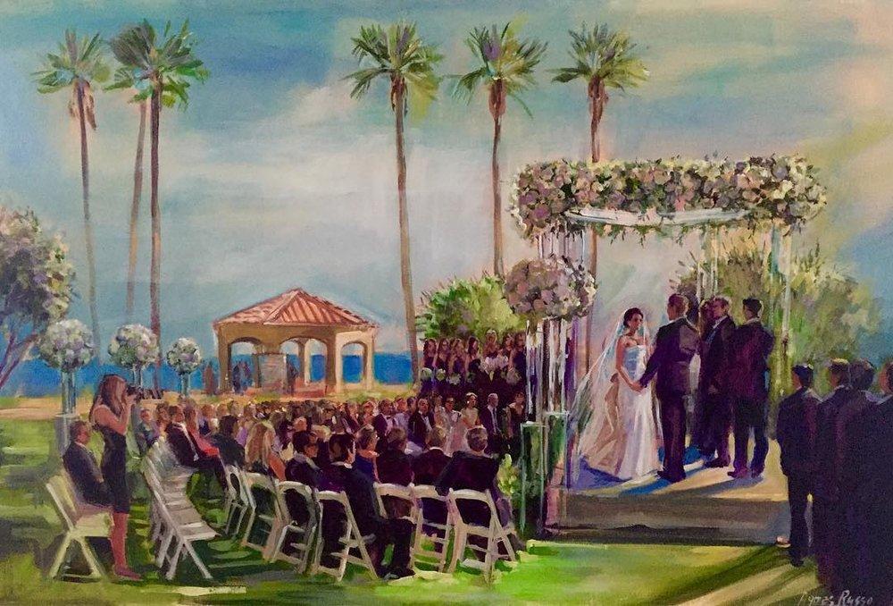 Monarch beach Resort Ceremony