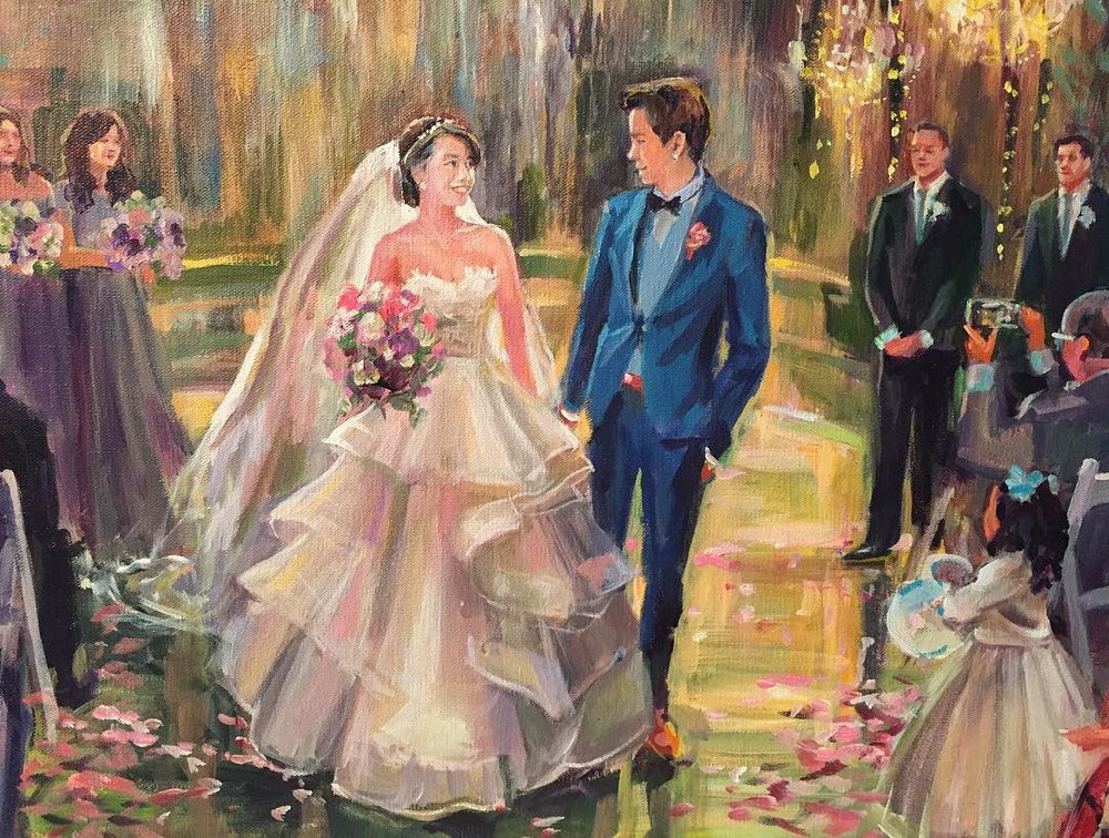 Calamigos Wedding