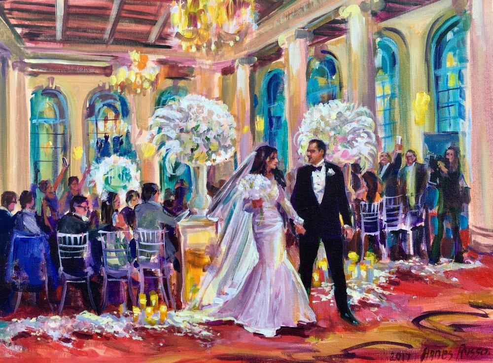 Millennium Biltmore Hotel, Emerald Room Ceremony