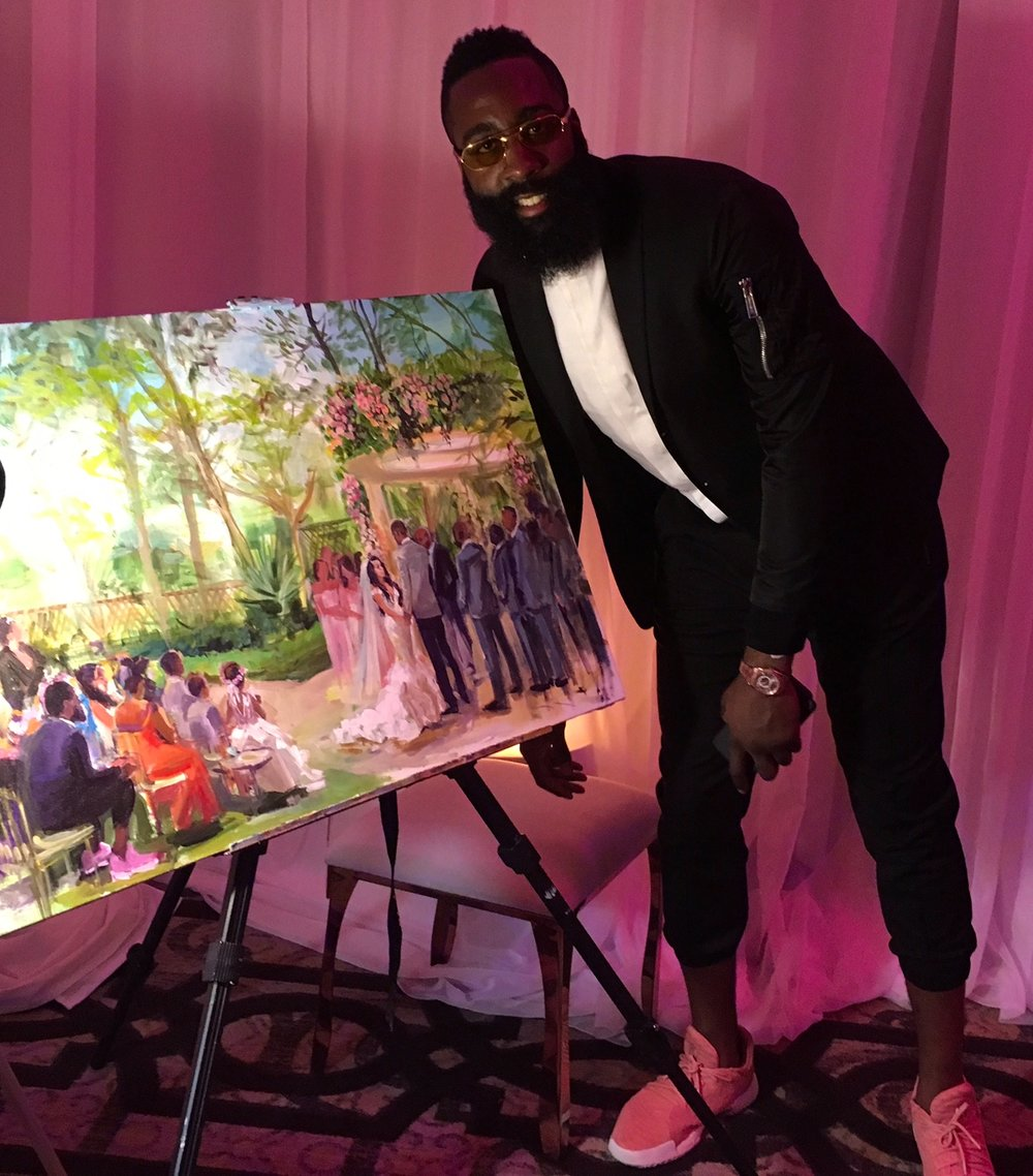 Monarch Beach Resort Ceremony with James Harden