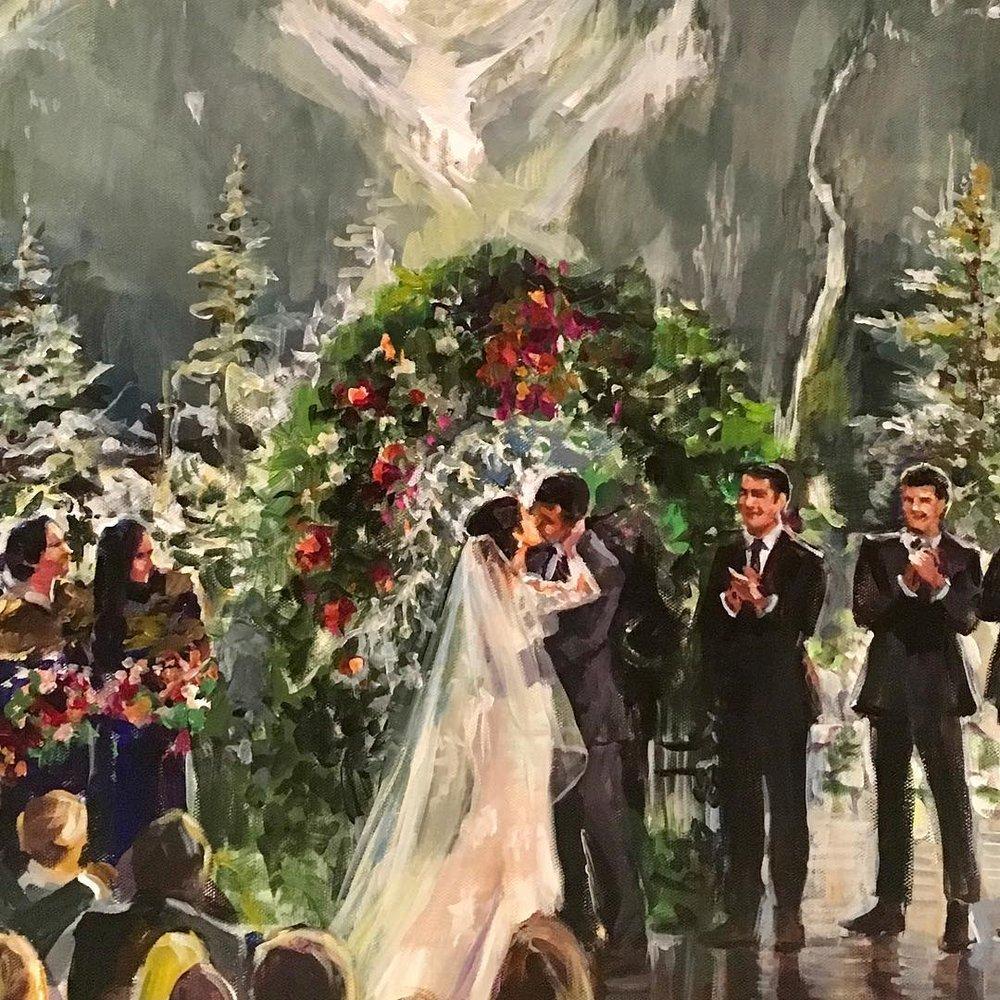 ASPEN WEDDING CEREMONY DETAIL