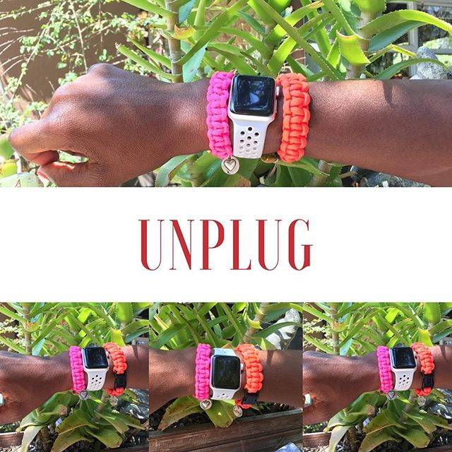 Unplugging can free up sometime to do things that you enjoy or discover a new hobby like making #paracordbracelet