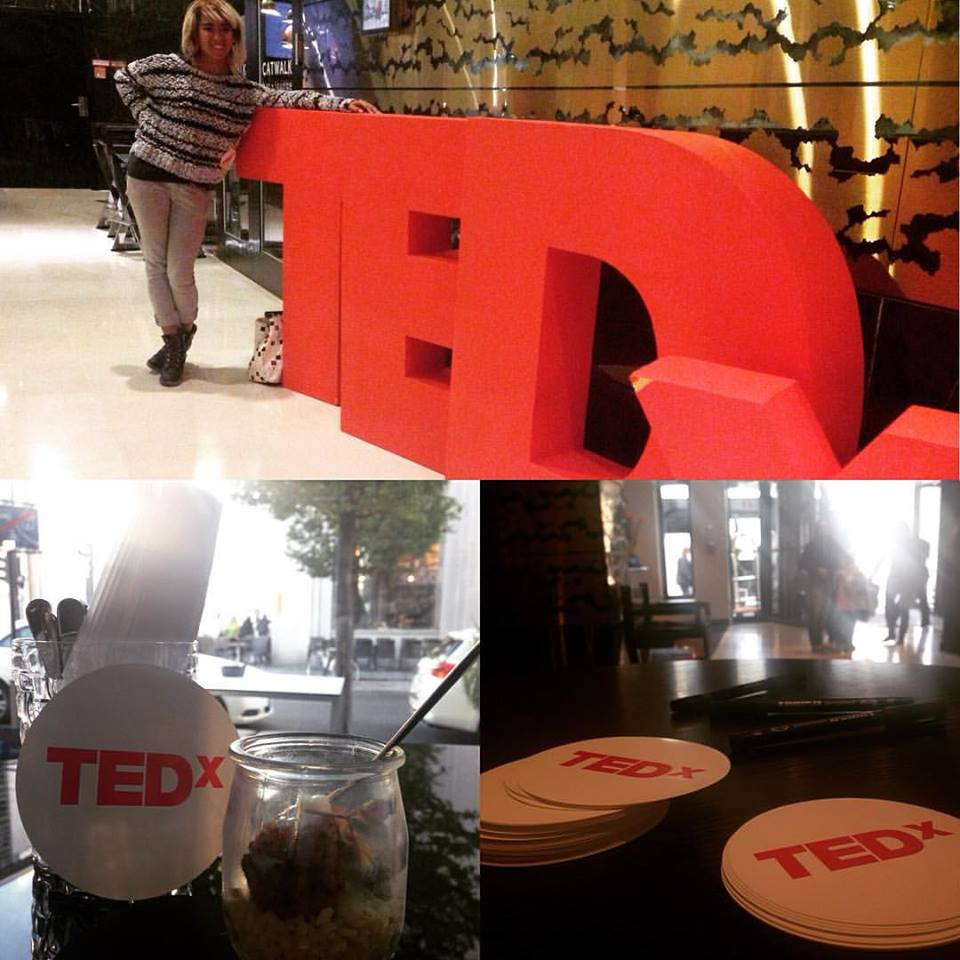 At the TEDxBerlin 2015 after event! Follow The Instagram Adventures @TheHashtagHERO