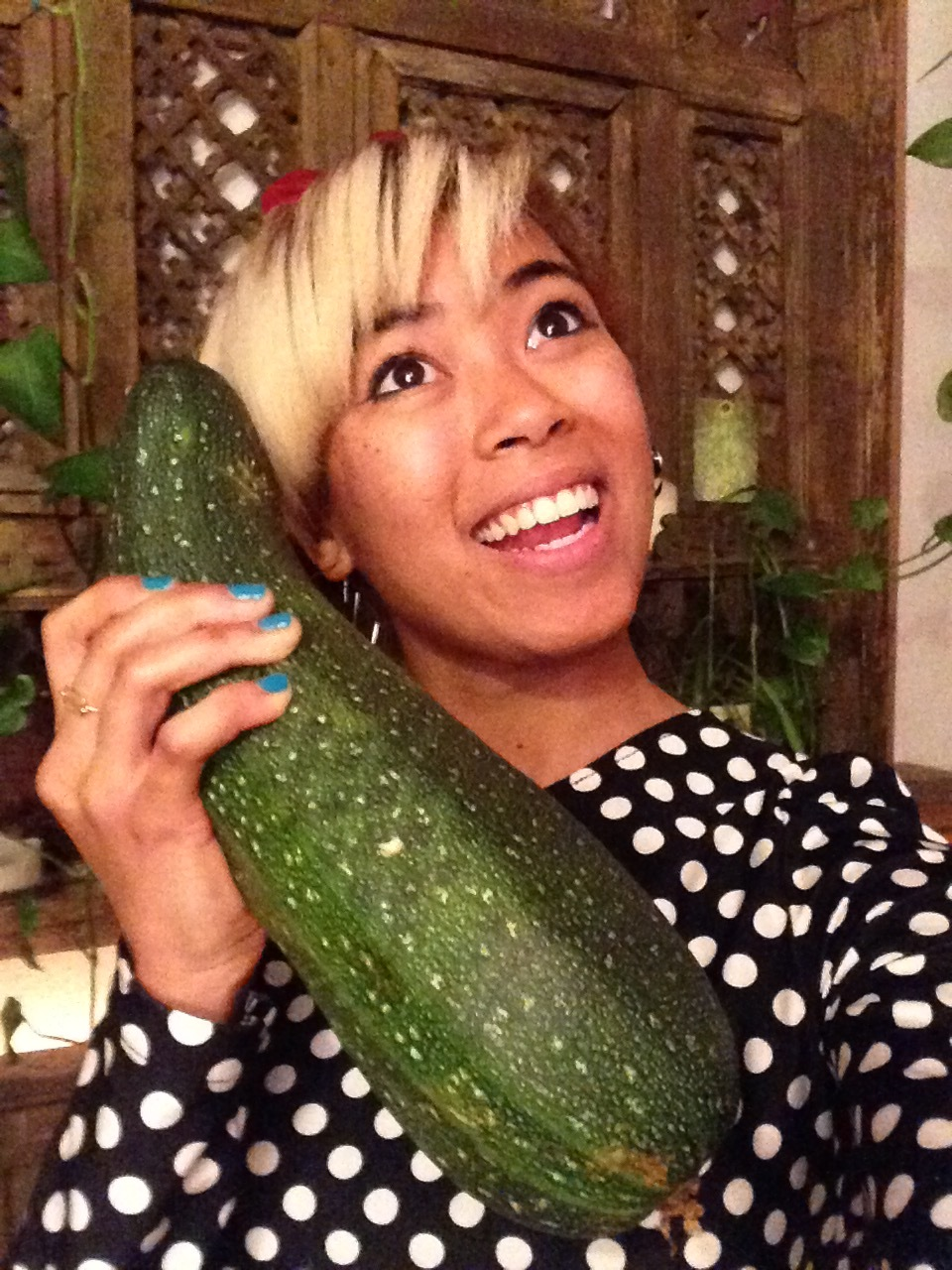 Getting a call from a giant organic zucchini #winning @TheHashtagHERO