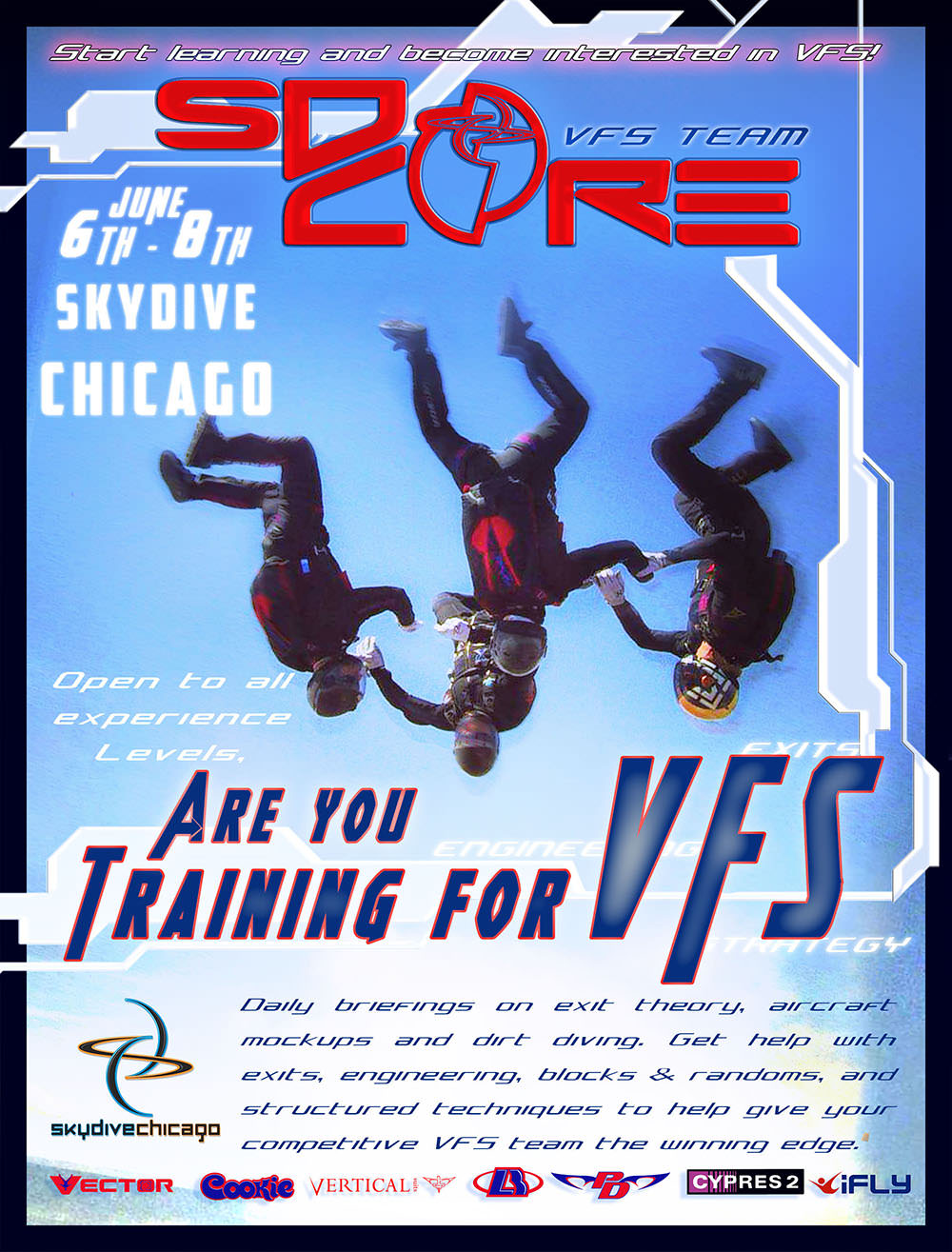 SDC Core Training Camp Poster