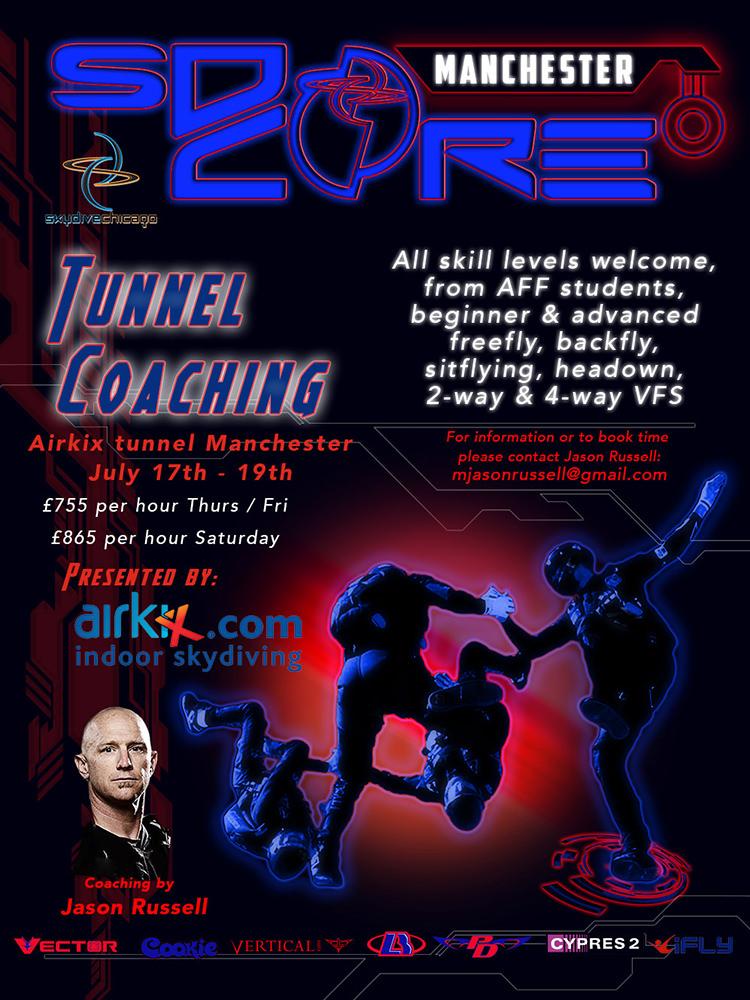 SDC Core Tunnel Camp Poster