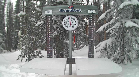 Photo of the Steamboat Resort Snow Cam