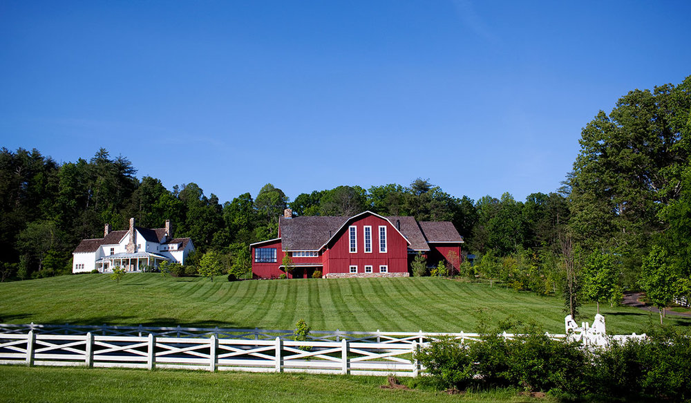 BLACKBERRY FARM IN WALLAND, TENNESSEE. (CREDIT: BEALL + THOMAS PHOTOGRAPHY)