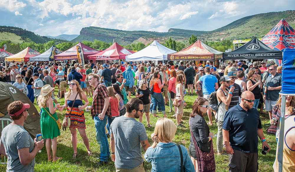 OSKAR BLUES ANNUAL BURNING CAN FESTIVAL. (CREDIT: OSKAR BLUES BREWERY)