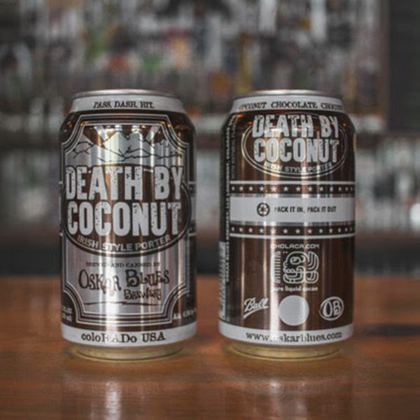 CHOLACA IS PART OF THE MAGIC IN OSKAR BLUES' DEATH BY COCONUT. (CREDIT: CHOLACA)