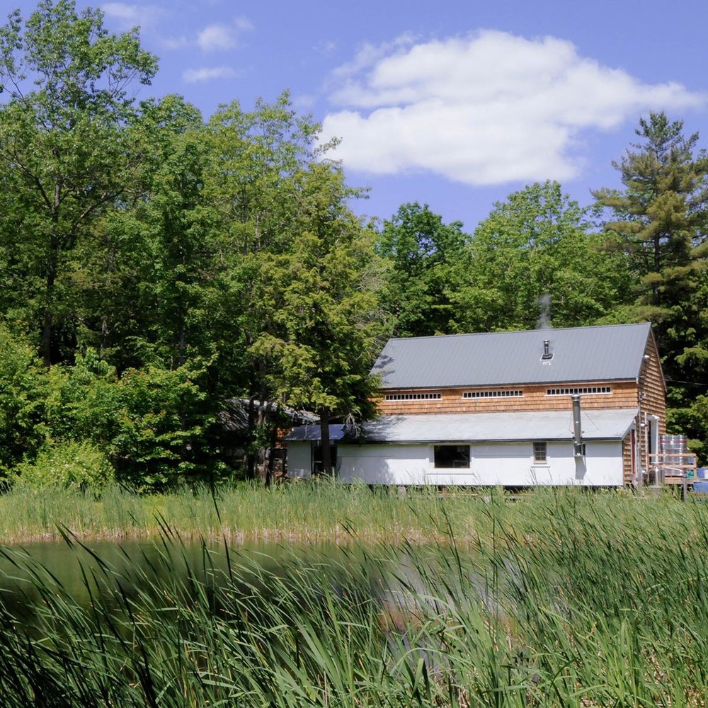 OXBOW BREWERY IS LOCATED IN A RENOVATED BARN ON 18 ACRES IN NEWCASTLE, MAINE. (OXBOW BREWERY)