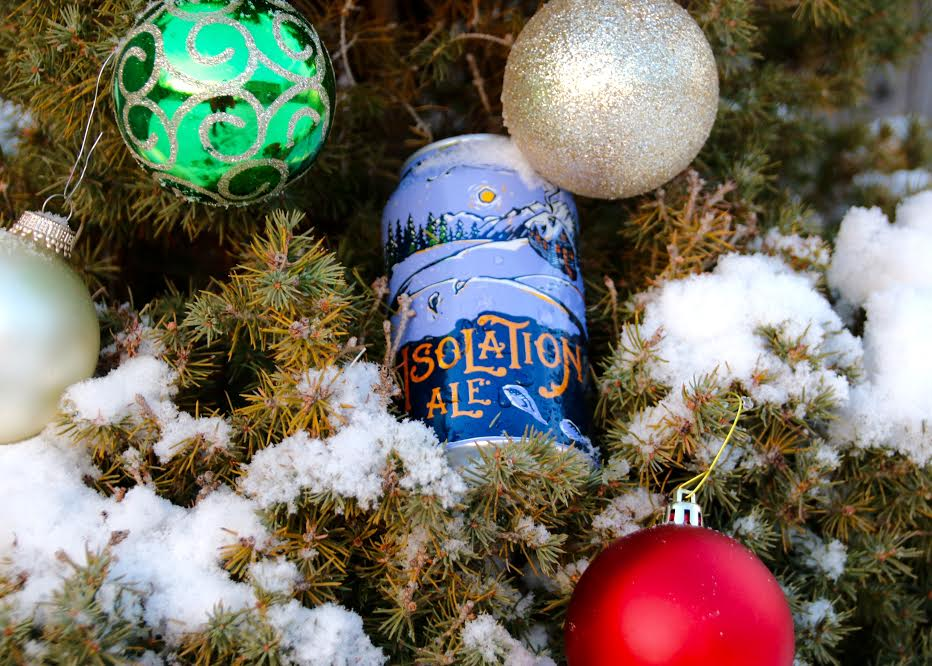Odell Brewing Company's Isolation Ale is worthy of sharing with guests this holiday season. —Photo by Tyra Sutak