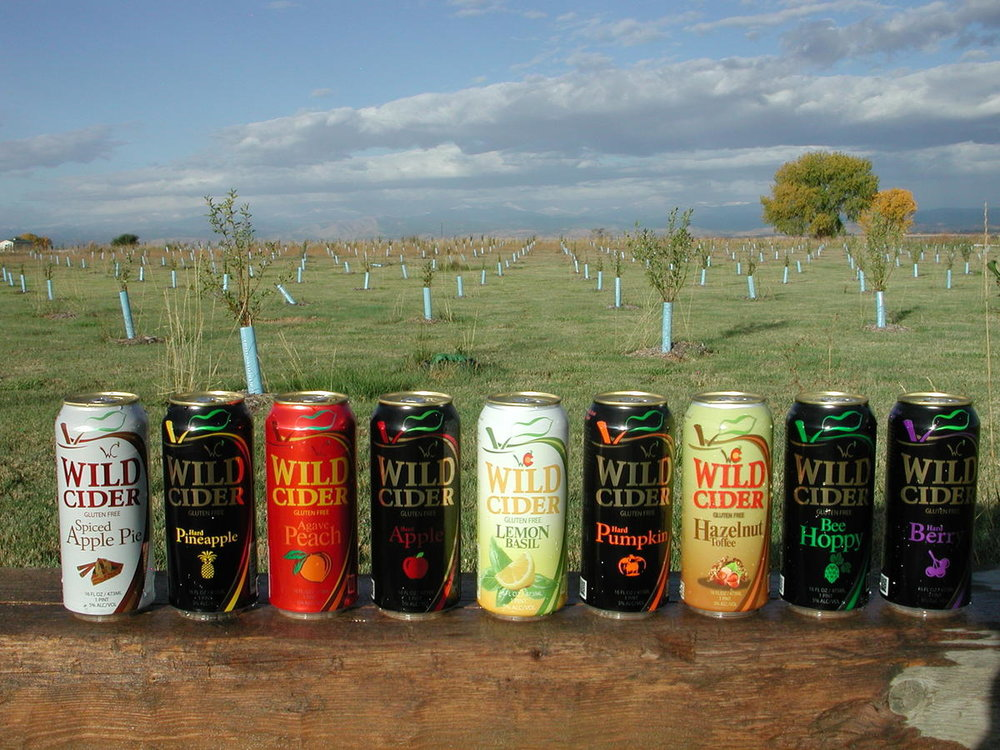 Wild Cider's picturesque Firestone orchard. Photo courtesy of Wild Cider