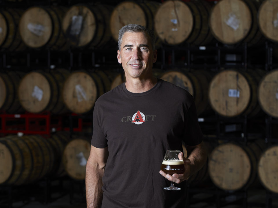 Avery Brewing Company founder Adam Avery. Photo courtesy of Avery Brewing Company