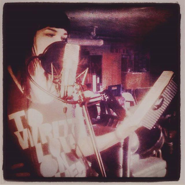 Recording 'Scars' back in 2012.  #mmxii #phantom #album #scars #photojournal 📷: @kikidehelsinki
