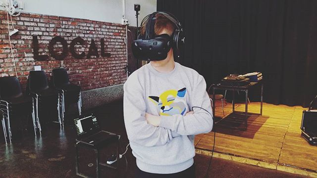 Come and see some really cool VR demos today at FIVR (Finnish Virtual Reality Association) stage at @sidewayshel - including a prototype of our VR music video! #sidewayshel #fivr #delicode #wearephantom #virtualreality