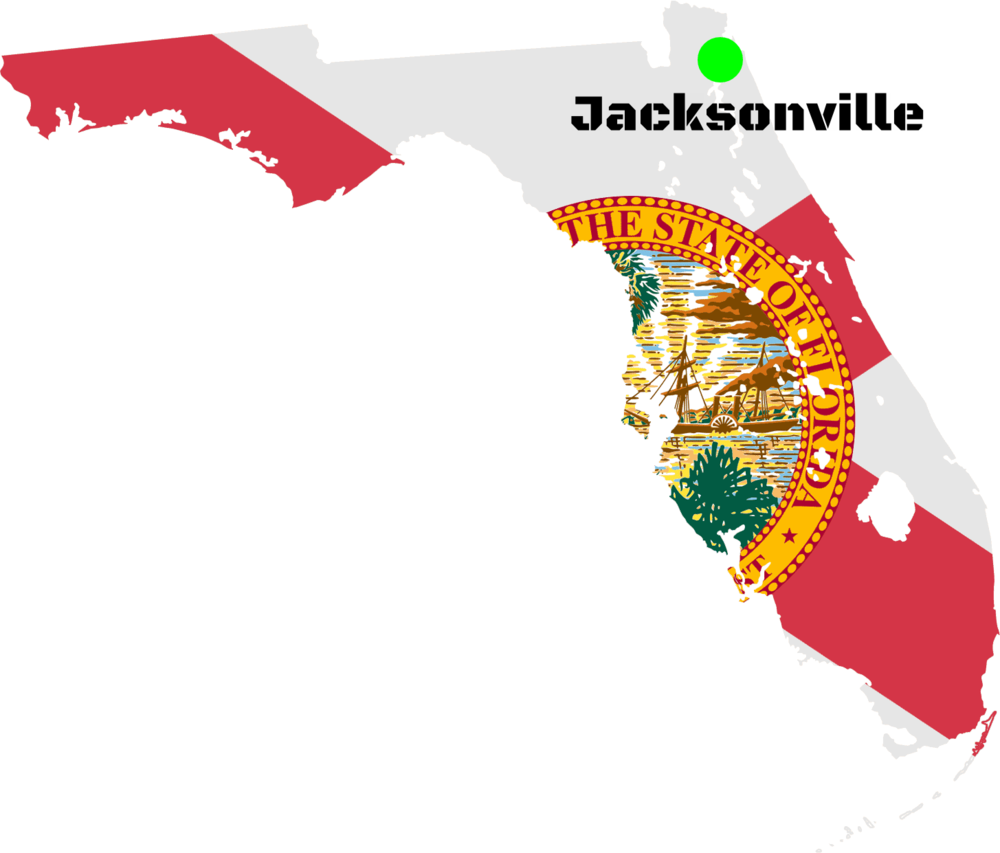We are located in Jacksonville, FL. We DO NOT currently have a store front, our products are available at the Institute of Police Technology and Management (IPTM) here in Jacksonville.