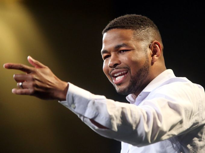 Inky Johnson - Featured on ESPN's SC Featured, author, inspirational speaker, entrepreneur, former SEC Division I football athlete.