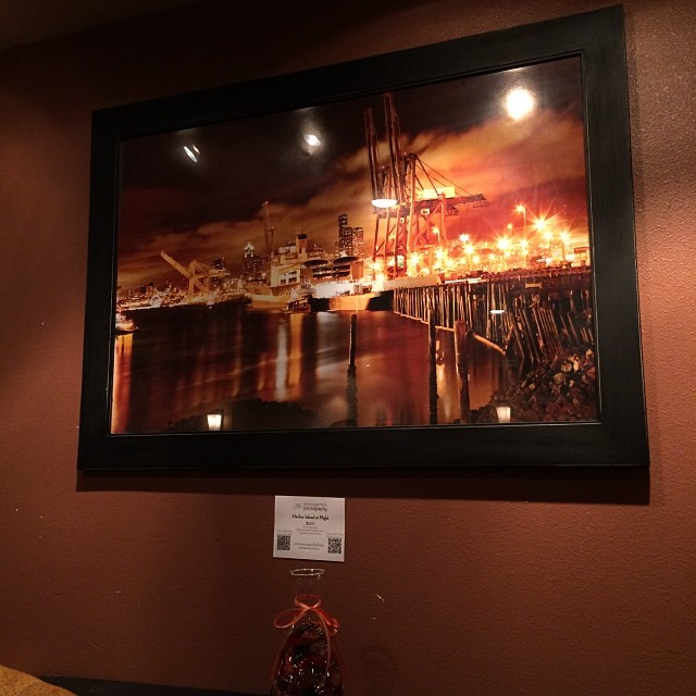 Art at Mark Restaurant by Jeremy Echols #burien #btownbeat