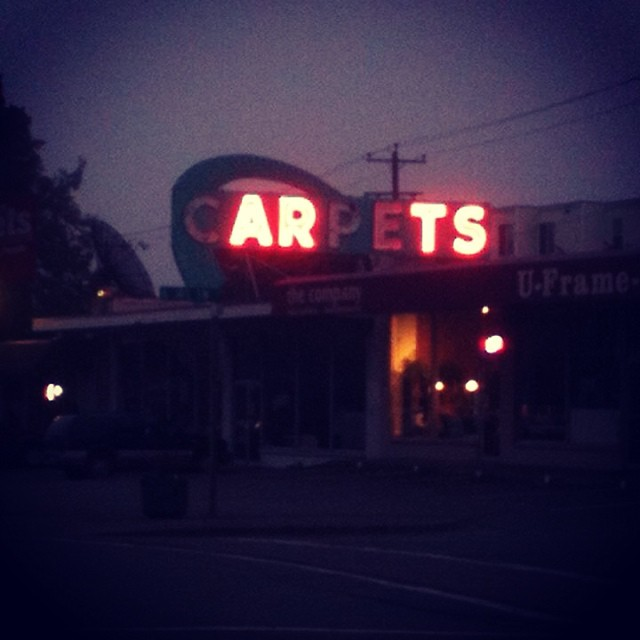 The arts are taking over Burien! #burien #art #carpet #btownbeat