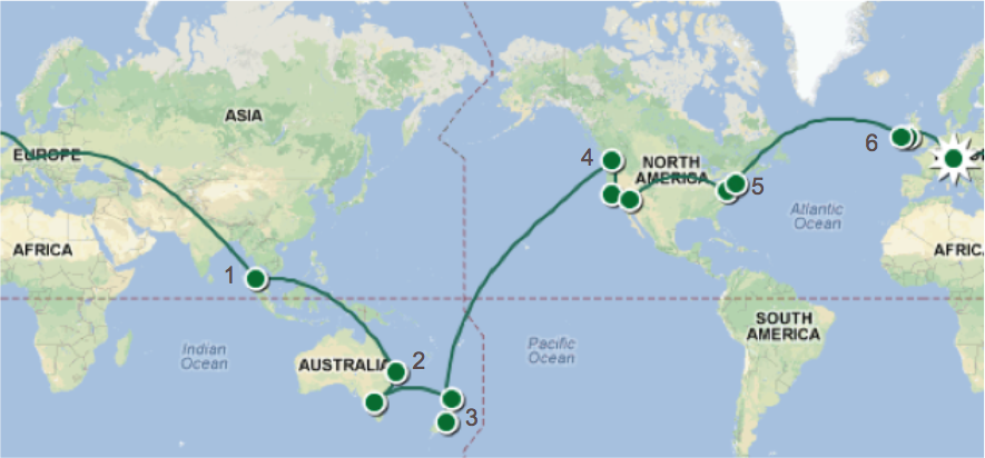Round-the-World 2013-2014