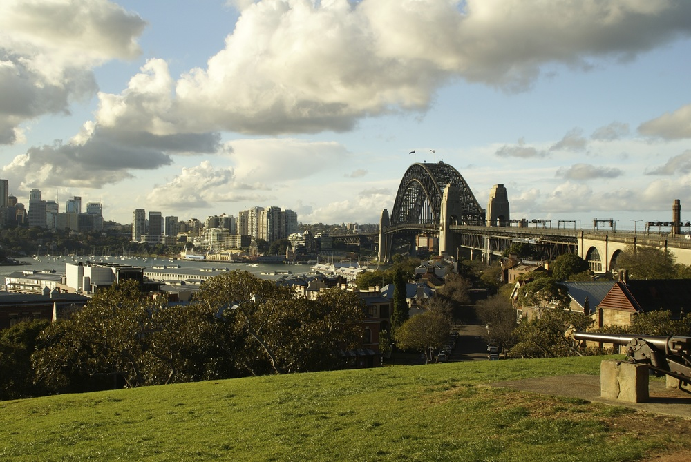 Sydney - med Sydney Harbour Bridge