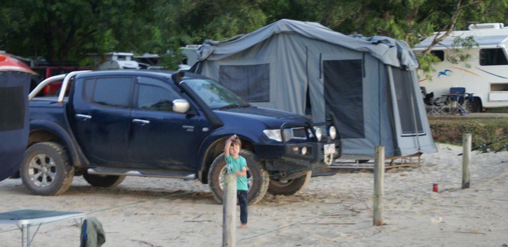 Extrem camping et sted i Australien