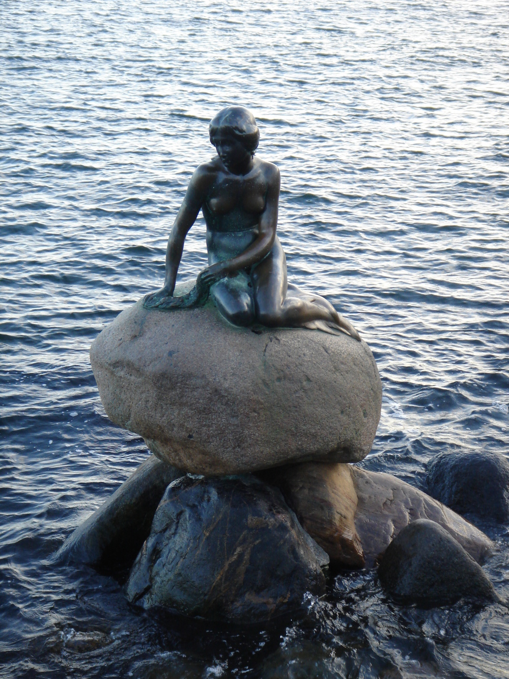 The Little Mermaid - perhaps THE most famous landmark in Copenhagen!