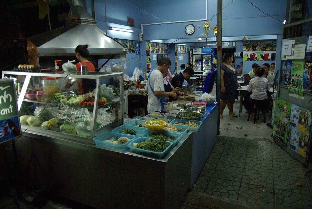 Vores favorit gade-restaurant i Bangkok