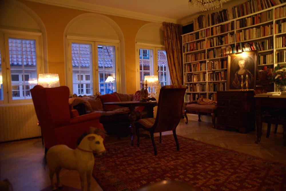 Wohnzimmer, Pension Vestergade 44