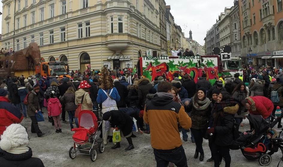 Karnevals optog i München