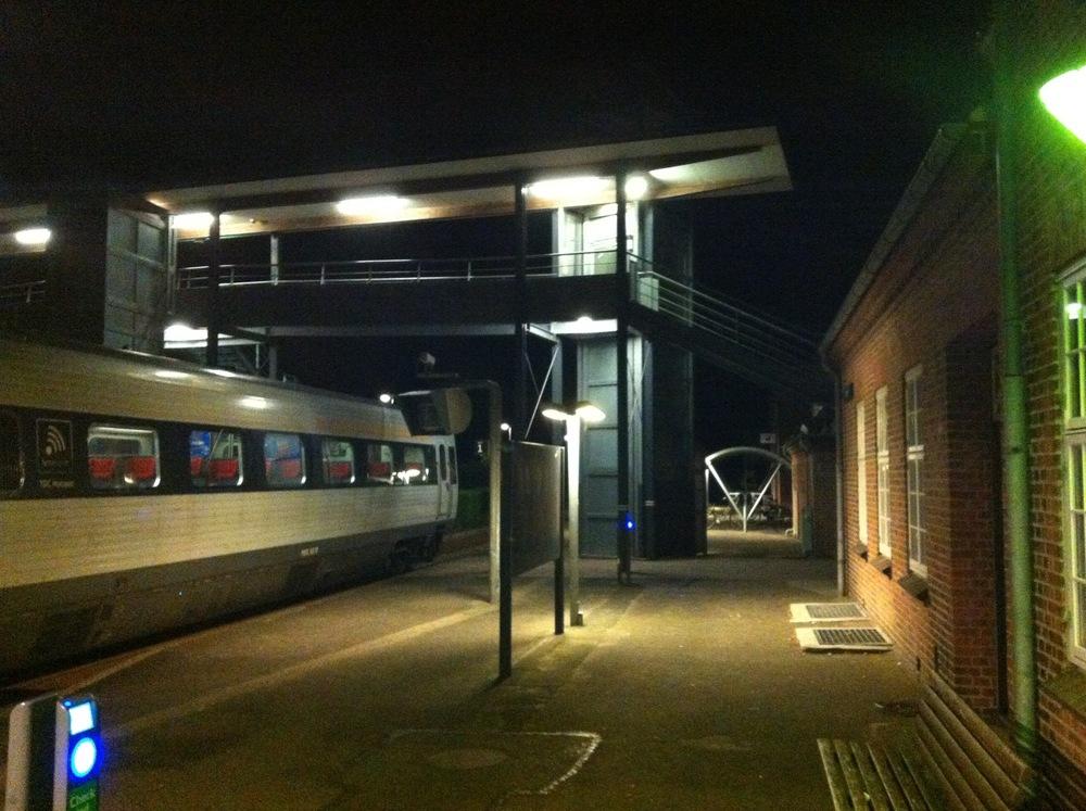 Sidste stop med toget!