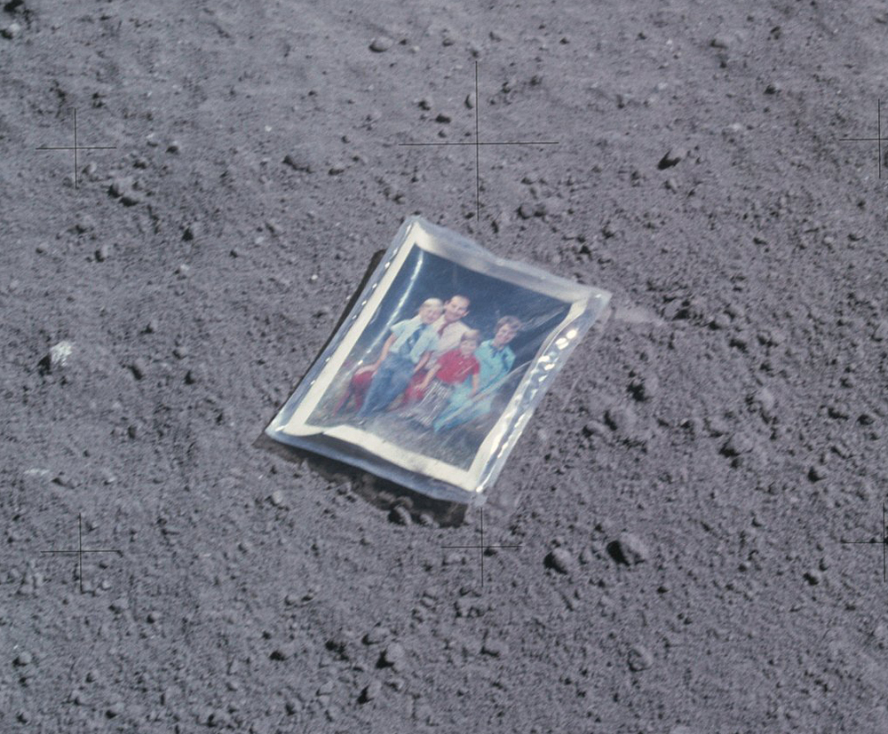 This has to be my most favorite Apollo photo because it looks so delicate and in total contrast with the other Apollo photos that seem to be celebrating scientific and technological achievements.