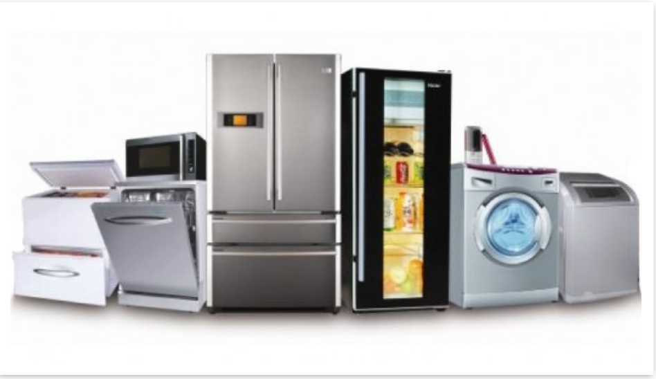 range of appliances
