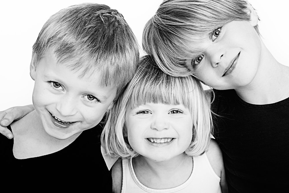 Mijn 3 lieverds... Odile, Bastiaan en Noralie.