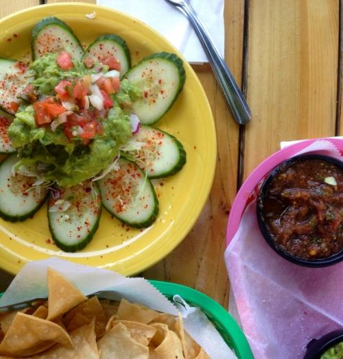 chili salt cucumbers