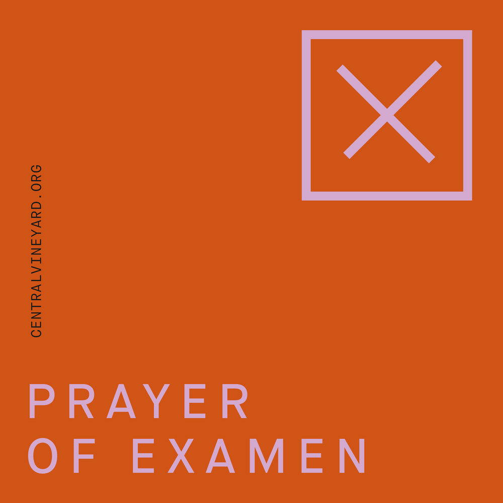 Guided prayer of examen  Click cover to listen/download