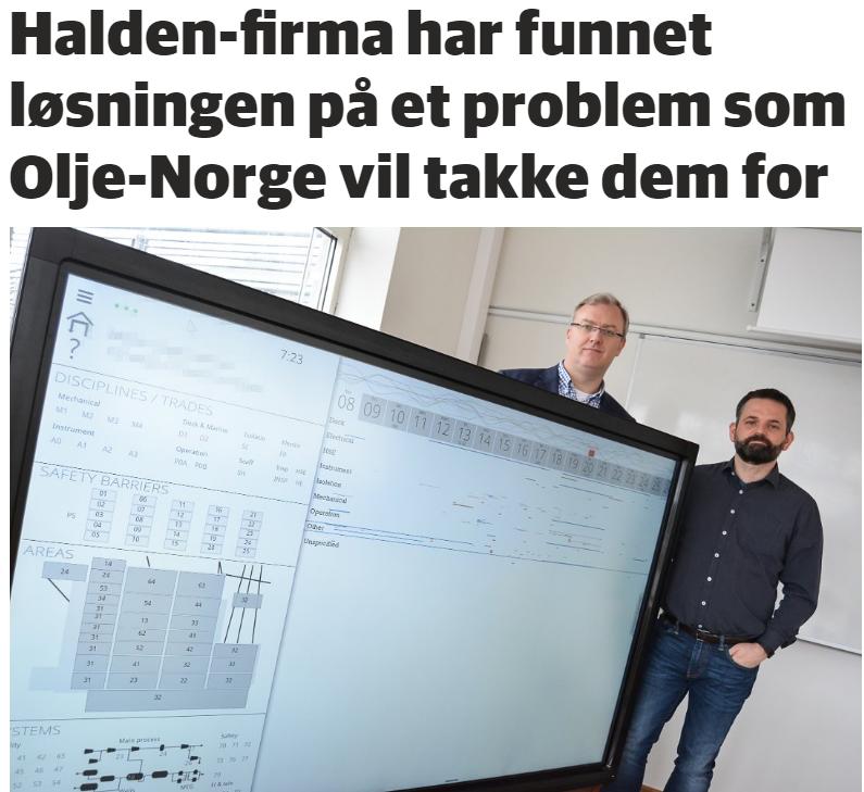 Halden Arbeiderblad April 25, 2017. Foto: Anja Lillerud.