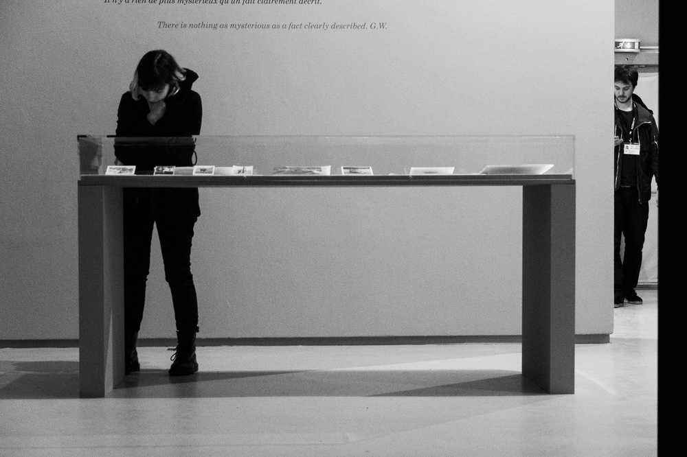 At the Winogrand exhibition in Paris